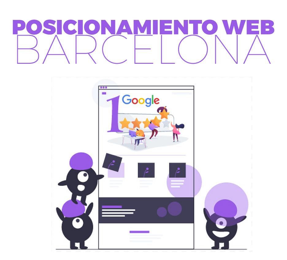Posicionamiento web Barcelona imagen destacada